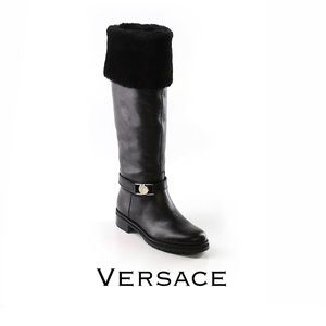 Versace Collection Salon Boots